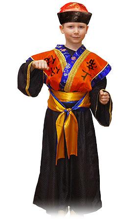 Детский карнавальный костюм Самурая серии Карнавалия Премиум фирмы