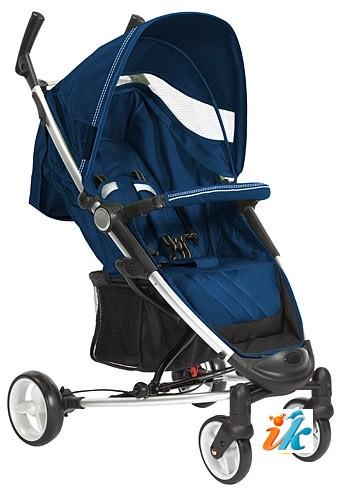 Детская прогулочная КОЛЯСКА Lider Kids  S401B VIKI, Лидер Кидс S-401-B ВИКИ, 4-х колесная, супер легкая и компактная коляска на алюминиевой раме, с накидкой на ноги, дождевиком, сумкой для транспортировки и рюкзаком. Цвет Синий.