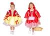 Детский карнавальный костюм - трансформер Белоснежка и Красная Шапочка на 1-2 и 3-4 года, фирмы Snowmen артикул Е80744 . 2 костюма в одном. Двусторонний костюм. Карнавальный костюм - трансформер
