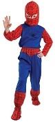 Костюм Человека Паука, детский карнавальный костюм Spiderman, Костюм Спайдермена, артикул Н62338, фирма Шампания,  на 7-12 лет