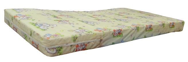 Ортопедический матрас Снежный кокос, матрац  для детских кроватей Джуниор,  размер детского матраса  130х70х10 см, детский матрас купить, матрас для кровати от 2-х лет