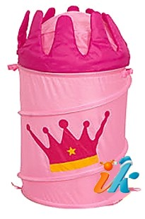 напольные складные корзины для игрушек в детскую комнату