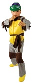 Детский карнавальный костюм Черепашки-ниндзя с пластиковой маской, 3 размера: от 3-х до 12 лет фирмы Шампания  артикул Н68486