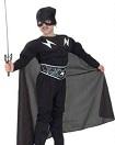 SNOWMEN.   Детский карнавальный костюм Зорро с мускулатурой, фирма Snowmen, артикул Е70843. Костюм любимого персонажа, героя приключенческого фильма