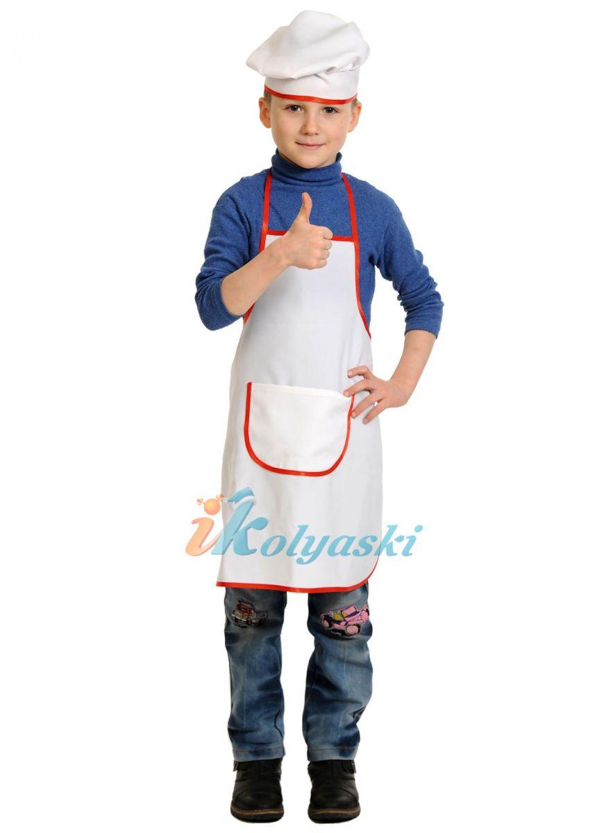 Костюм повара своими руками для детей