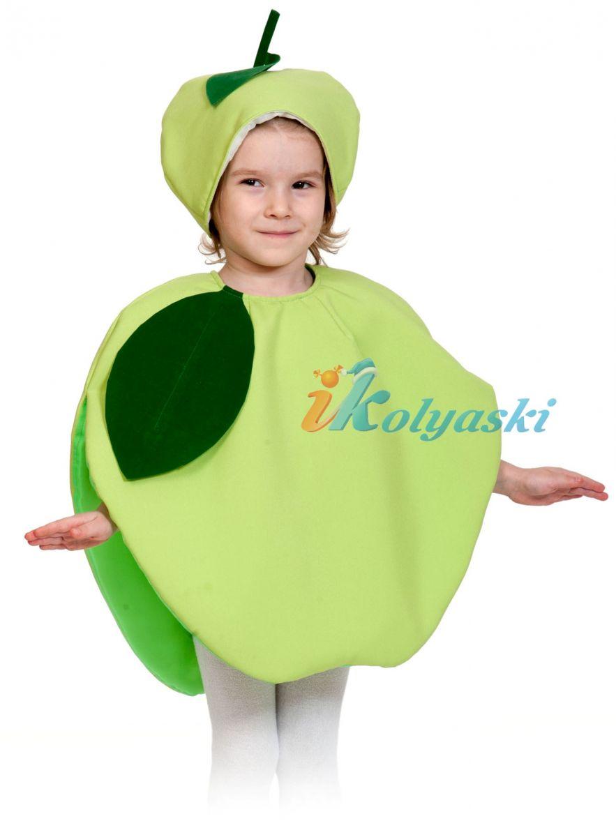 Костюм Яблока детский, костюм Яблока для девочки, костюм ... - photo#34