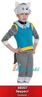 Костюм Эвереста Щенячий Патруль, детский карнавальный костюм Эвереста сибирского хаски горого спасателя из мультфильма Щенячий патруль, от 3 до 8 лет, рост 98-132 см, артикул 88007