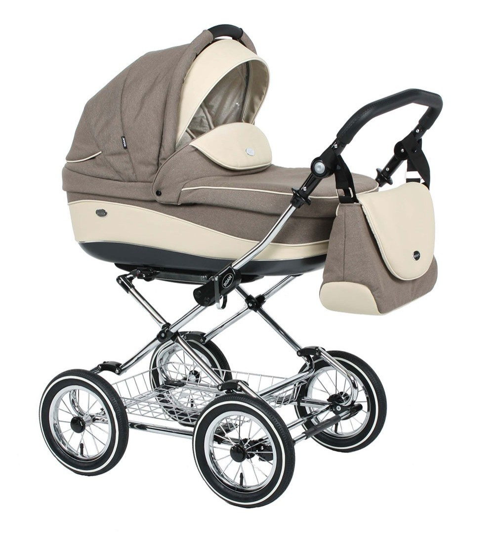 Детская коляска для новорожденных 3 в 1, Roan Emma - Роан Эмма, самая модная коляска для новорожденных, модные коляски, купить коляску для новорожденного, детские коляски роан, детские коляски roan, Roan Emma, цвет RP14