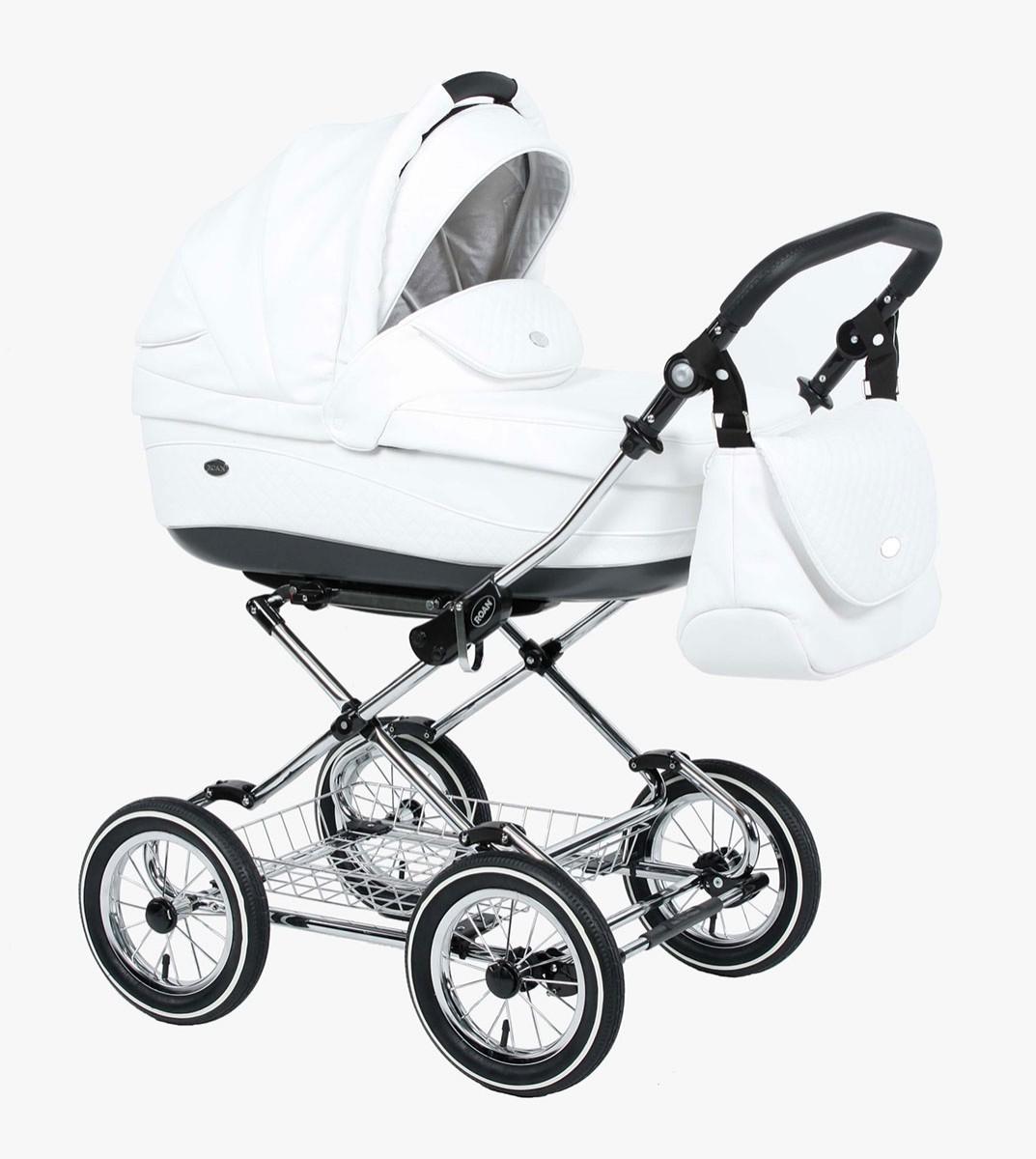 Детская коляска для новорожденных 3 в 1, Roan Emma - Роан Эмма, самая модная коляска для новорожденных, модные коляски, купить коляску для новорожденного, детские коляски роан, детские коляски roan, Roan Emma, цвет RP17