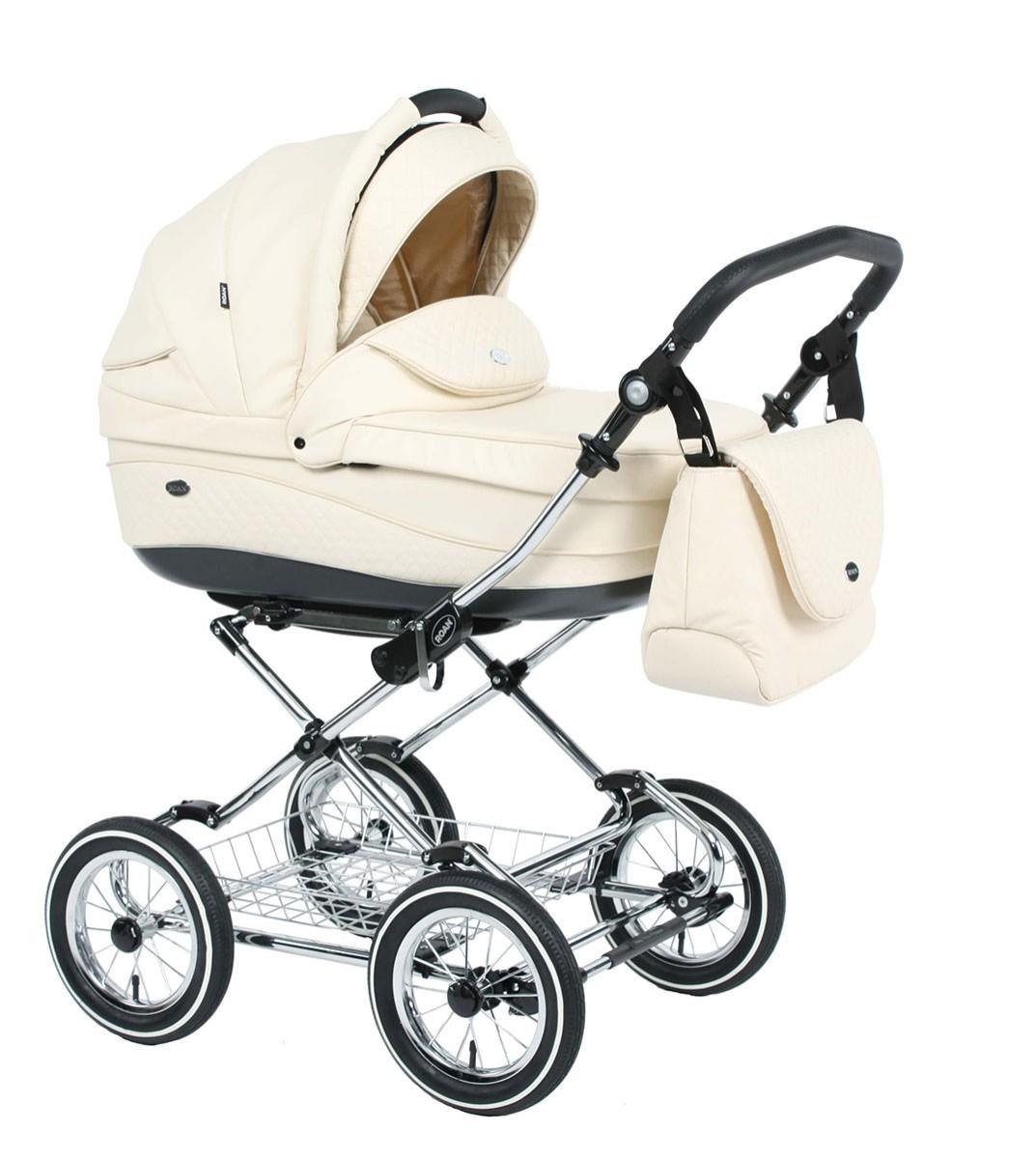 Детская коляска для новорожденных 3 в 1, Roan Emma - Роан Эмма, самая модная коляска для новорожденных, модные коляски, купить коляску для новорожденного, детские коляски роан, детские коляски roan, Roan Emma, цвет RP18