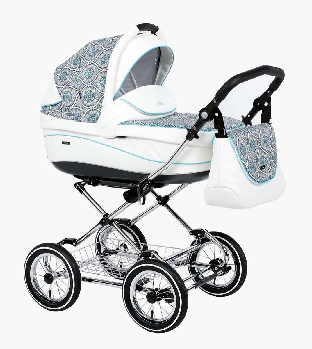 Детская коляска для новорожденных 3 в 1, Roan Emma - Роан Эмма, самая модная коляска для новорожденных, модные коляски, купить коляску для новорожденного, детские коляски роан, детские коляски roan, Roan Emma, цвет RP20W2
