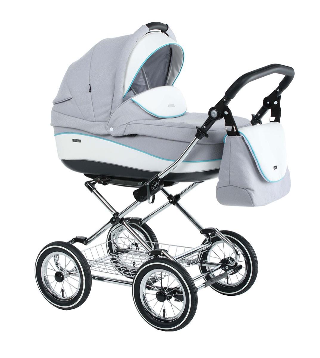 Детская коляска для новорожденных 3 в 1, Roan Emma - Роан Эмма, самая модная коляска для новорожденных, модные коляски, купить коляску для новорожденного, детские коляски роан, детские коляски roan, Roan Emma, цвет RP8