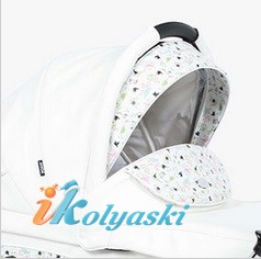 Детская коляска для новорожденных Roan Emma Chrome 2 в 1, Роан Эмма Хром на 12 дюймовых надувных колесах, цвет E16