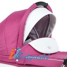 Детская коляска для новорожденных Roan Emma Chrome 3 в 1, Роан Эмма Хром на 14 дюймовых надувных колесах, цвет E5