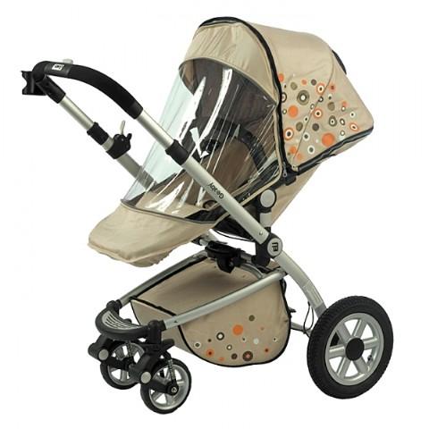 Детская коляска универсальная 2 в 1 , зима - лето Geoby 05 GB 01 B