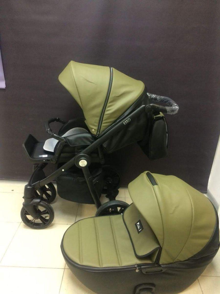 Roan Esso 2 в 1, Детская коляска для новорожденных, на поворотных колесах, 2 в 1 Roan Esso - Роан Эссо. Новинка 2018. Цвет Olive