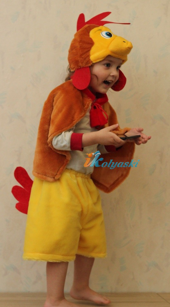 Детский костюм петуха своими руками фото 424