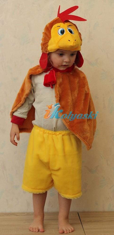 Детский костюм петуха своими руками