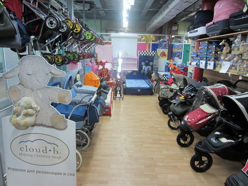 Магазин детских колясок москва