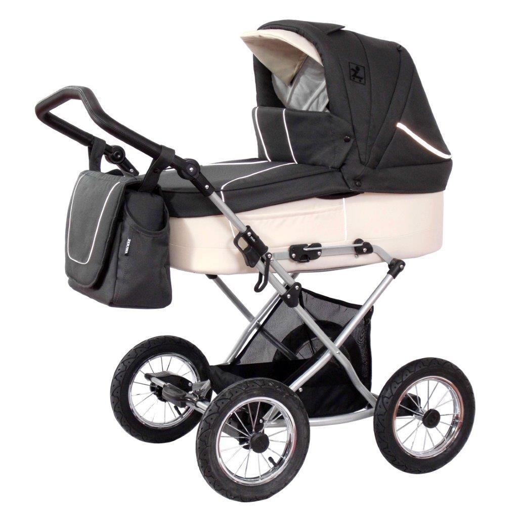 Детская коляска для новорожденных, коляска зима - лето, Коляска 2 в 1, Zekiwa