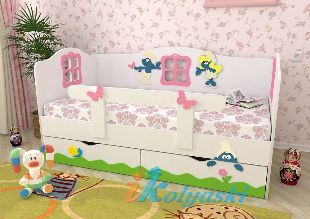 кровати для девочек фото от 3 лет