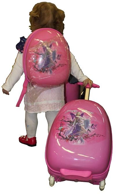 Детский чемодан на колесиках eggie Эгги Сказочные Принцессы, 16 IA13