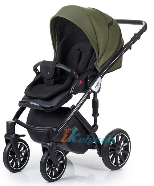 Anex Sport. Детская коляска для новорожденных, на поворотных колесах, 2 в 1 Anex Sport - Анекс Спорт.