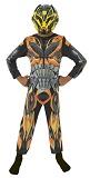 Карнавальный костюм ТРАНСФОРМЕРЫ, костюм трансформера БАМБЛБИ, размер L, возраст 7-8 лет, рост 128 см, артикул Н89110, Rubies, Шампания