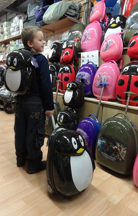 Рюкзак Эгги Пингвин очень легкий, прочный, непромокаемый, с...