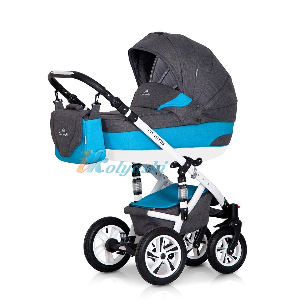Детская модульная коляска для новорожденных с автокреслом Caretto Riviera 3 в 1. Детская модульная коляска для новорожденных Caretto Riviera 3 в 1, детские коляски, коляски для новорожденных, лучшие коляски для новорожденных, модульные коляски для новорожденных, купить коляску 3 в 1, коляска 3 в 1 купить, коляска на поворотных колесах, надежная коляска 3 в 1, коляска с автокреслом, коляски 2018.