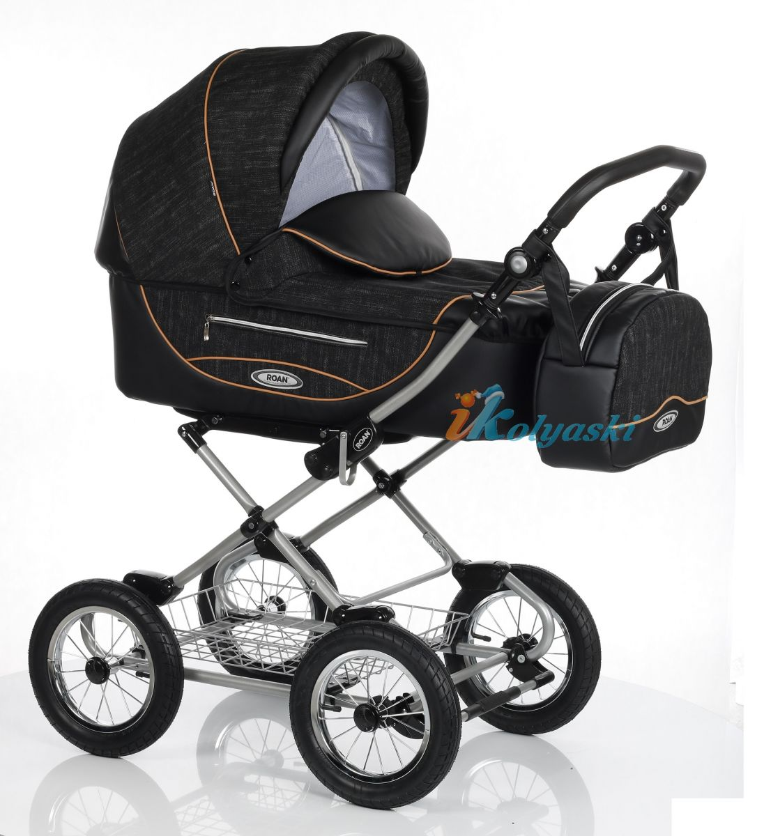 Детская коляска Roan Kortina Luxe Роан Кортина люкс 2018 спальная люлька 3 в 1 , коляска для новорожденных, коляска зима-лето.  roan kortina, roan cortina, Детская коляска Roan Kortina Luxe, коляска Роан Кортина люкс 2018, коляска спальная, коляска  люлька, коляска 3 в 1, коляска для новорожденных, роан кортина, коляска роан кортина, коляска roan cortina, цвет Orbit Black