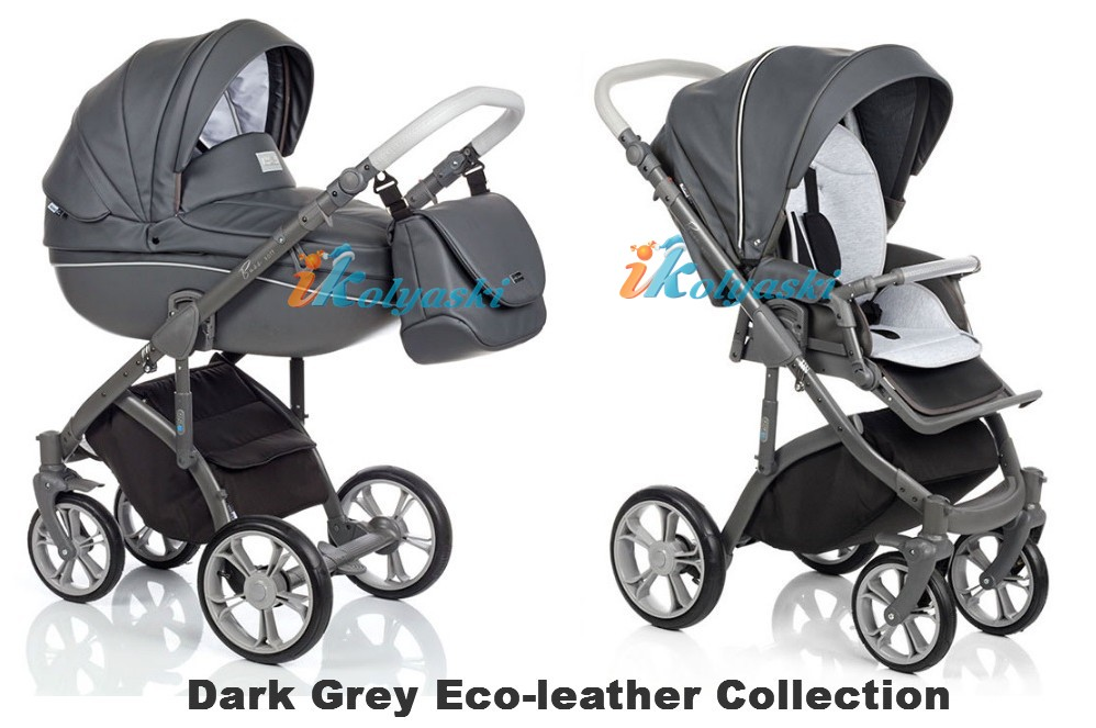 Roan Bass Soft LE Eco-Leather Collection цвет Dark Grey