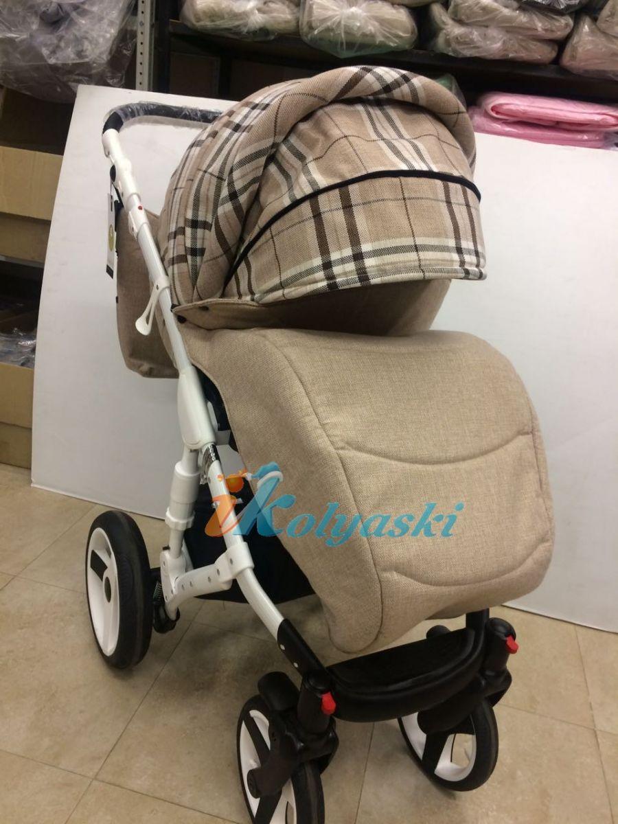 Little Trek Avenir фирменная, оригинальная, Детская спальная коляска для новорожденных два в одном 2 в 1 Литтл Трек Авенир. Бампер на прогулочном блоке есть свой колпак и своя теплая накидка на ноги