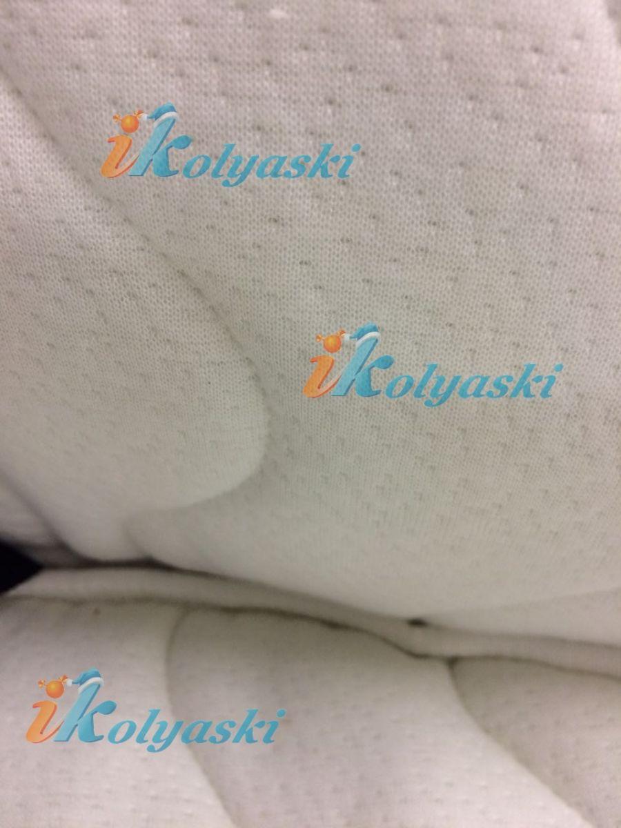 Little Trek Avenir фирменная, оригинальная, Детская спальная коляска для новорожденных два в одном 2 в 1 Литтл Трек Авенир. Внутренняя обивка салона коляски и покрытие матраса из специальной пенки MEMORY FOAM с памятью в чехле из трикотажного перфорированного материала из бамбукового волокна с антибактериальной пропиткой ALOE VERA