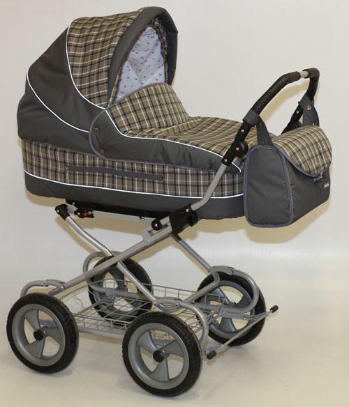 Коляска для новорожденных Little Trek LUXE РЕГУЛЯРНАЯ коллекция, шасси СУПЕР, колеса ЛИТЫЕ, имитация шин, диски ударопрочный пластик, купить коляску для новорожденных, детские коляски от рождения, детские коляски 1 в 1, коляски 1 в 1, коляска люлька
