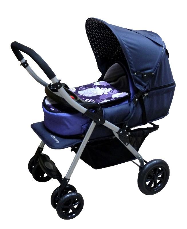Купить коляску прогулочную, Коляска прогулочная с перекидной ручкой, купить детскую прогулочную коляску, детские прогулочные коляски, прогулочная коляска зимой, большая прогулочная коляска, коляска Ecobaby Bamia, коляска Экобейби Бамия