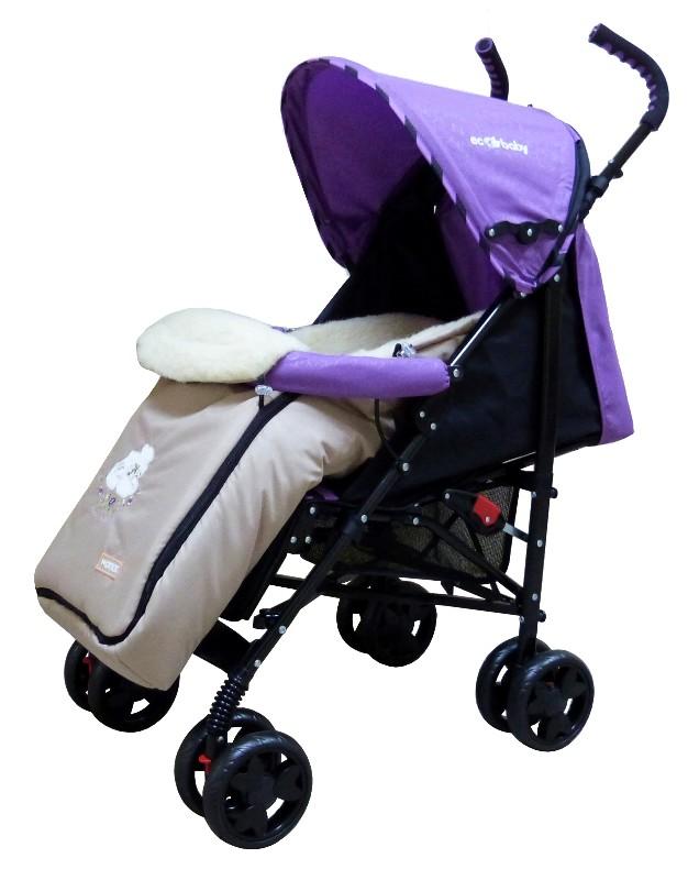 Детская коляска трость с большим капюшоном до бампера, коляска трость с лежачим положением спинки, коляска трость Ecobaby Tropic, Экобейби Тропик, коляска трость купить, самая легкая коляска трость, очень легкая коляска трость, купить коляску трость
