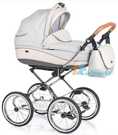 Детская коляска для новорожденных Roan Emma Chrome 2 в 1, Роан Эмма Хром на 14 дюймовых надувных колесах, коляски для новорожденных. коляски 2 в 1, коляска roan emma, коляска Roan Emma купить, модные коляски 2018, лучшие коляски 2018, самая модная коляска, цвет Е59