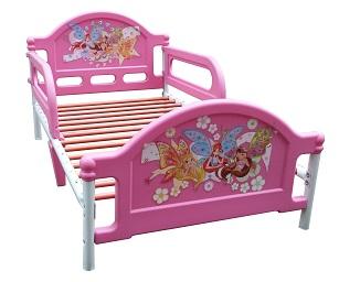 Детская кровать Джуниор, кровать с бортиками, кровать для мальчика, кровать от 3 лет, до 6 лет, металл, пластик. Кровать с комплектом: постельное белье, одеяло, подушка, Самая безопасная детская кровать для дошкольников, кровать от 2 лет, детские