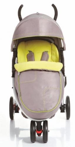 C409 прогулочная трехколесная коляска