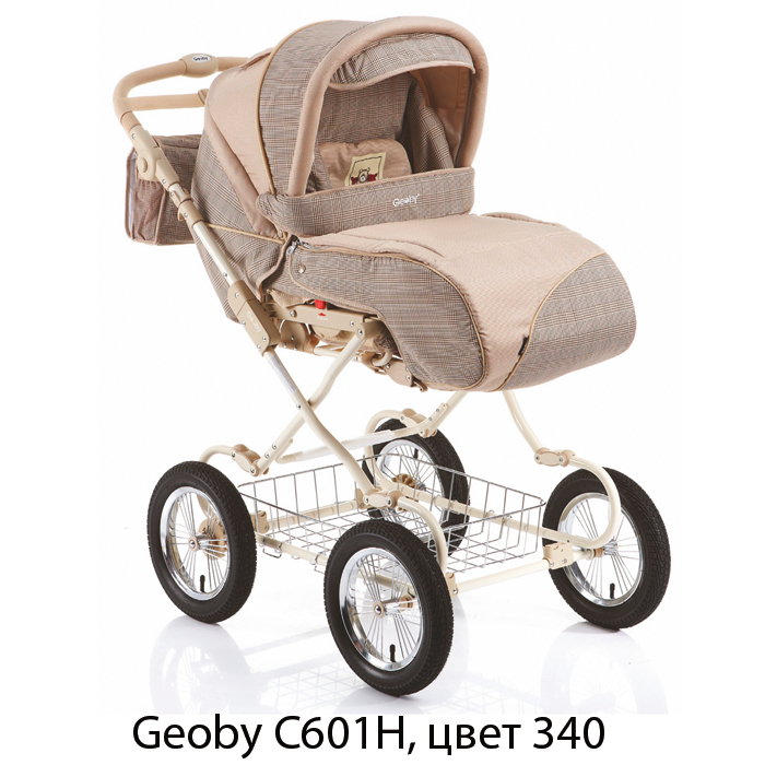 Geoby C601H (C601J) Коляска для новорожденных универсальная, 2 в 1, зима
