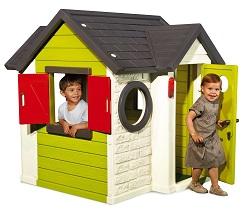 детский игровой пластиковый Домик Smoby со звонком и замком, артикул 310228 , размер 120х115х135 см.