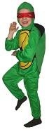 Детский карнавальный костюм Черепашки-ниндзя, на 3-4 года, рост 92-104 см, фирмы Snowmen артикул Е3366