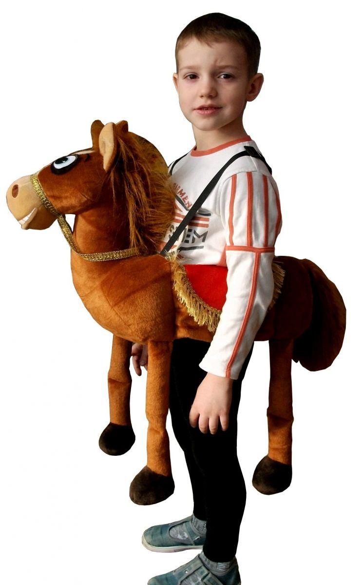 Детский карнавальный костюм Рыжего Коня на шлейках, с ... - photo#40