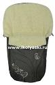 Зимний конверт для новорожденных Ecobaby - Экобейби, модель Baby Breeze Winter, конверт в коляску, увеличенного размера 94х50 см, цвет ГРАФИТ (ТЕМНО-СЕРЫЙ). Особенно мягкая шерсть, на ощупь шелковистая, не вызывает аллергии у младенцев. Конверт прекрасно хранит тепло, температуру ребенка. Стягивается капюшон шнурком,  конверт укорачивается до роста новорожденного, а потом, по мере роста ребенка, конверт раздвигается в длину.