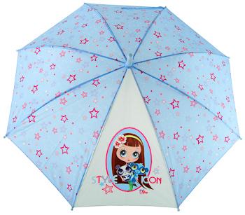 Детские зонтики (зонты) для детей для девочек купить