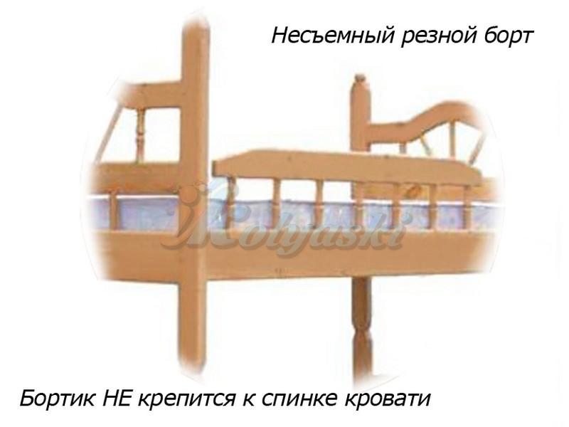 Детская двухъярусная кровать КУЗЯ-2 РАЗБОРНАЯ, подростковая двухъярусная кровать, двухъярусная детская кровать купить, кровать двухъярусная из натурального дерева, двухъярусные детские кровати. двухъярусные кровати цены и фото, двухъярусная кровать д