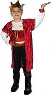 Детский карнавальный костюм Короля, костюм Царя на 7-10 лет, рост 120-130 см, фирма Snowmen, артикул Е51277-2.  Принц, королевич.