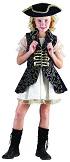 Костюм пиратки - покорительницы морей, костюм пирата для девочки, пиратский костюм для девочки  на 7-10 лет, рост 120-130 см, артикул Е93157, фирма Snowmen