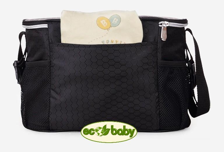 Термо сумка для детской коляски, сумка для мамы на коляску Ecobaby, модель Insular, артикул ЕС-002, цвета  разные.  Термо сумка для детской коляски, сумка для мамы на коляску Ecobaby, модель Insular, артикул ЕС-002, купить термо сумку на коляску, термосумка на коляску, купить термосумку на коляску, сумка холодильник.